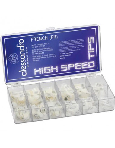 High speed french nail tips box (size...